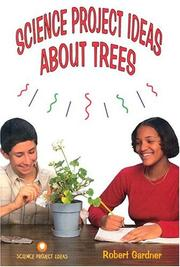 Cover of: Science project ideas about trees