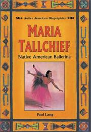 Cover of: Maria Tallchief