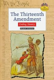 Cover of: The Thirteenth Amendment