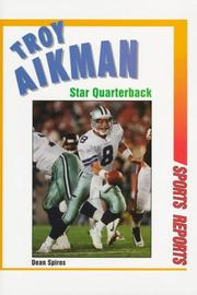 Cover of: Troy Aikman, star quarterback