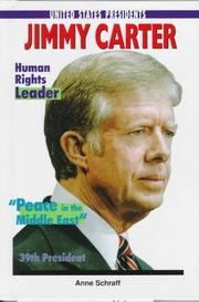 Cover of: Jimmy Carter | Anne E. Schraff