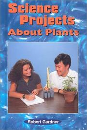 Cover of: Science projects about plants