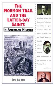 Cover of: The Mormon trail and the Latter-day Saints in American history