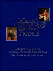 Cover of: Jefferson's America & Napoleon's France | Gail Feigenbaum