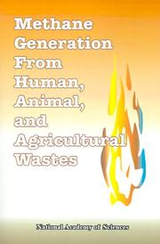 Cover of: Methane Generation from Human, Animal, and Agricultural Wastes