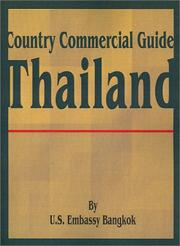 Cover of: Country Commercial Guide | U. S. Embassy Bangkok