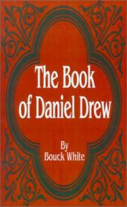 Cover of: The Book of Daniel Drew