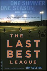 Cover of: The Last Best League