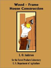 Cover of: Wood Frame House Construction