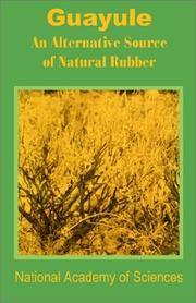 Cover of: Guayule