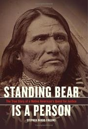 Cover of: Standing Bear Is a Person