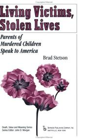 Cover of: Living Victims, Stolen Lives
