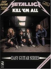 Cover of: Metallica - Kill 'Em All* (Play It Like It Is) by Metallica