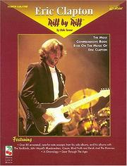 Cover of: Eric Clapton - Riff by Riff