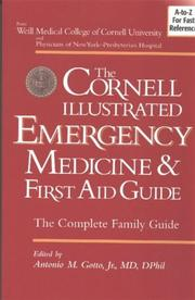 Cover of: The Cornell Illustrated Emergency Medicine and First Aid Guide, Black & White Version