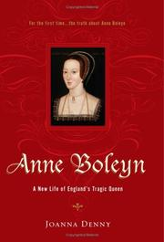 Cover of: Anne Boleyn | Joanna Denny