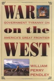 Cover of: War on the West