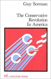 Cover of: The conservative revolution in America