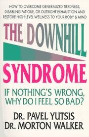 Cover of: The downhill syndrome | Pavel Yutsis