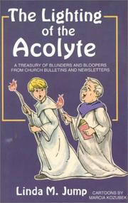 Cover of: The lighting of the acolyte | Linda M. Jump