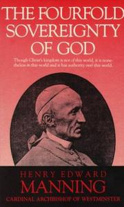 Cover of: The fourfold sovereignty of God