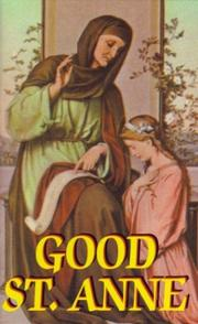 Cover of: Good St. Anne |