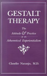 Cover of: Gestalt therapy