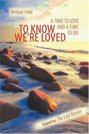 Cover of: To Know We're Loved