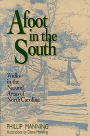 Cover of: Afoot in the South