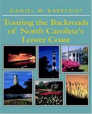 Cover of: Touring the backroads of North Carolina's lower coast