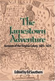 Cover of: The Jamestown Adventure | Ed Southern