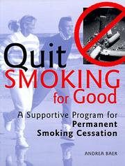 Cover of: Quit smoking for good