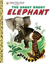 Cover of: The Saggy Baggy Elephant | K. Jackson