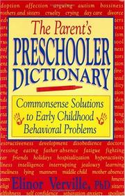 Cover of: The parent's preschooler dictionary