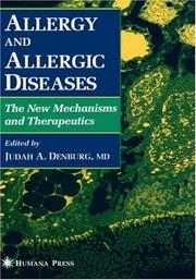 Cover of: Allergy and allergic diseases |