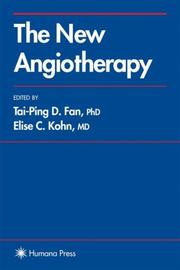 Cover of: The new angiotherapy |