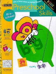 Cover of: Preschool Skills (Preschool) (Step Ahead) | Kathleen A. Cole