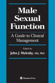 Cover of: Male Sexual Function | John J. Mulcahy