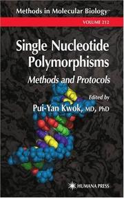 Cover of: Single Nucleotide Polymorphisms | Pui-Yan Kwok