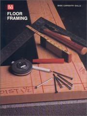 Cover of: Floor framing | Charley G. Chadwick