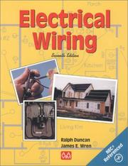 Cover of: Electrical wiring