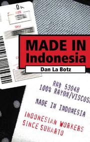 Cover of: Made in Indonesia