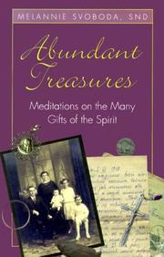 Cover of: Abundant treasures