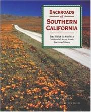 Cover of: Backroads of southern California