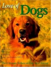 Cover of: Love of dogs