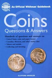 Cover of: Coins | Clifford Mishler
