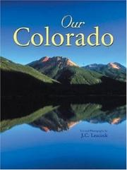 Cover of: Our Colorado | J. C. Leacock