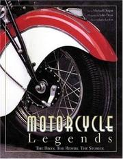 Cover of: Motorcycle legends