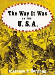 Cover of: The way it was in the U.S.A. | Clarence Pearson Hornung