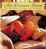 Cover of: The Cushion Book